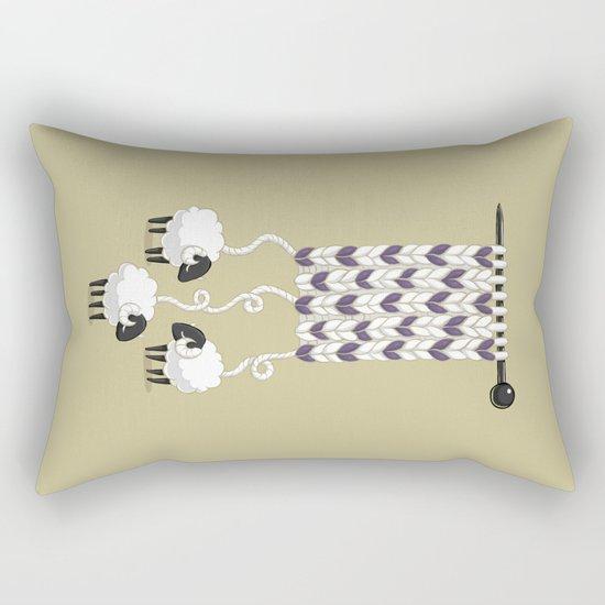 Wool Scarf Rectangular Pillow