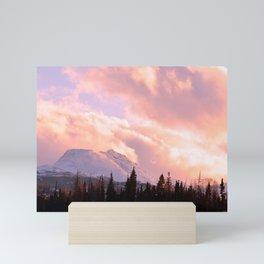 Rose Quartz Turbulence Mini Art Print