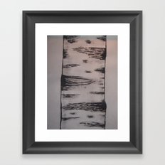 My ink Aspen Framed Art Print