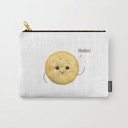 Super Cute Realistic Cracker Kawaii (Clever huh?) :p Carry-All Pouch