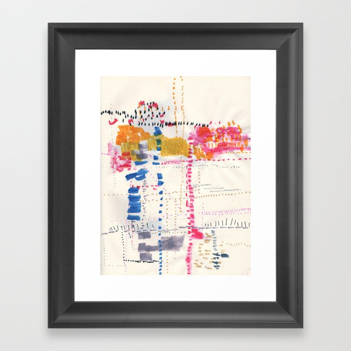 Map To Morocco. Second Stage.  Framed Art Print