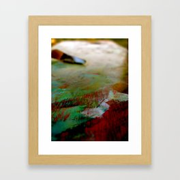 Palette Cleanser Framed Art Print