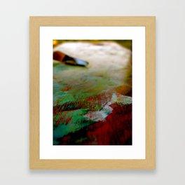 Palette Cleanser Framed Art Print