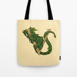 Dragon Letter V 2019 Tote Bag