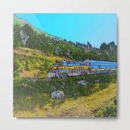 Chugach Explorer Metal Print