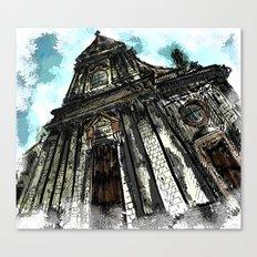 Saint George Church in Locorotondo (Italy) Canvas Print