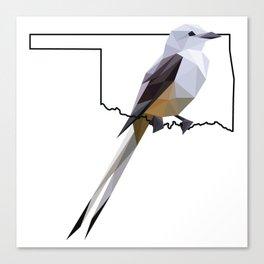 Oklahoma – Scissor-Tailed Flycatcher Canvas Print
