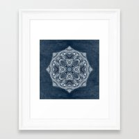 blueprint Framed Art Prints featuring Natural Blueprint by DebS Digs Photo Art