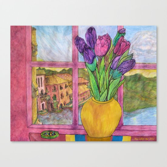 Bella Italia Canvas Print