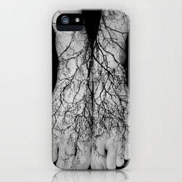 Our roots lie within our veins. iPhone Case