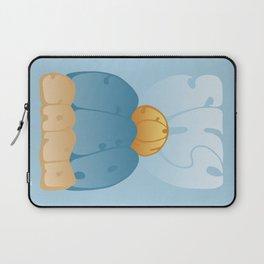 Sky, Sun, Sea, Sand Typography - Original Laptop Sleeve