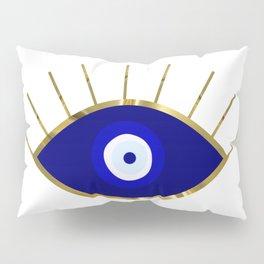 I See You Evil Eye Pillow Sham