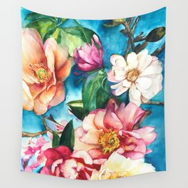 Tropical Floral I Wall Tapestry