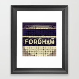 Fordham Framed Art Print