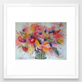 Still life Flowers Framed Art Print