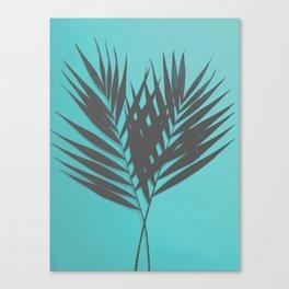Palm Leaves #1 #Mint #decor #art #society6 Canvas Print
