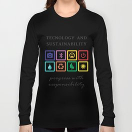 Technology and sustainability Long Sleeve T-shirt