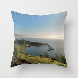 San Francisco Sausalito from the Gate Viewing Spot Throw Pillow