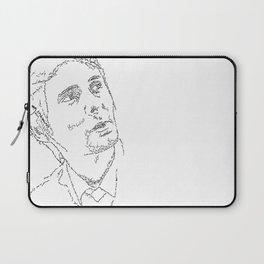 Matthew Bellamy WordsPortrait Laptop Sleeve
