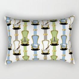 Cats on Thrones (2) Rectangular Pillow