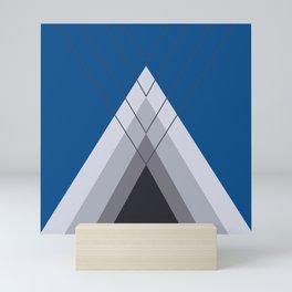 Iglu Lapis Blue Mini Art Print