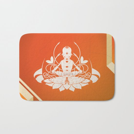 Opening the higher state of consciousness Bath Mat