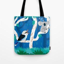 The Koala and the Kookaburra Tote Bag