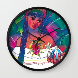 My Gringo Novio Wall Clock