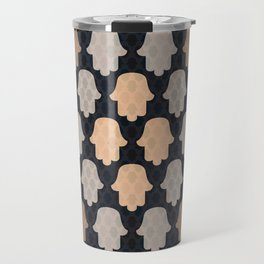 Hamsa Hands 2 Travel Mug