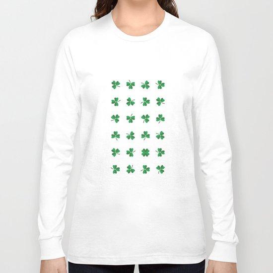 find a lucky clover! Long Sleeve T-shirt