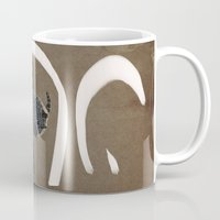 aries Mugs featuring aries by Todd A. Winter