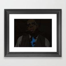 Jay-Z (Texture) Framed Art Print