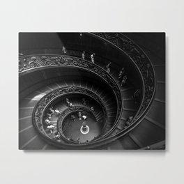 Vatican Staircase Metal Print