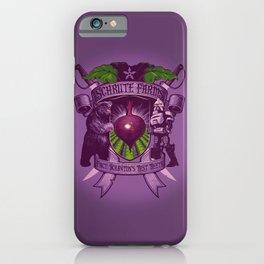 Bears, Beets, Battlestar Galactica iPhone Case