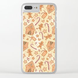 Smell of Gingerbread Clear iPhone Case