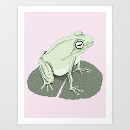 Odd Frog Art Print