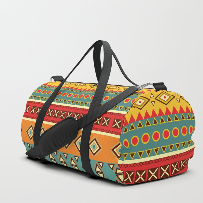 Barefooted in sarong Duffle Bag