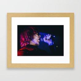 Mark Lanegan Framed Art Print