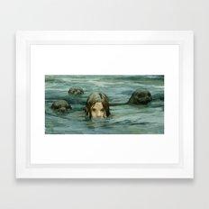 The Selkie Framed Art Print