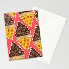 Don't Feed Me Shit and Call it Pizza Stationery Cards