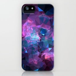 Galaxy Low Poly 45 iPhone Case