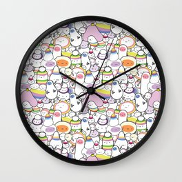 Cuties Wall Clock