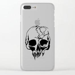 vampire skull Clear iPhone Case