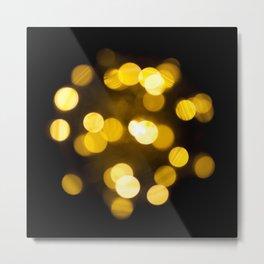 defocused lights Metal Print