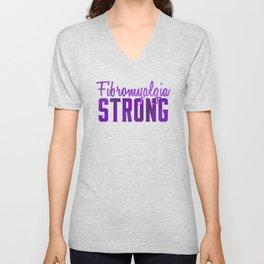 Fibromyalgia Strong Unisex V-Neck