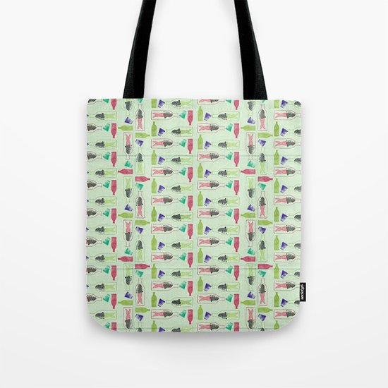 Water Pattern Tote Bag