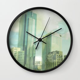 SEATTLE TRAVEL PHOTOGRAPHY Wall Clock