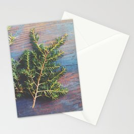 Hemlock on Blue Table Stationery Cards