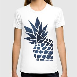 Pineapple, Big Blue, Denim Navy T-shirt
