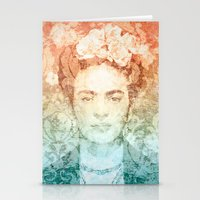 frida Stationery Cards featuring Frida  by Aive Trujillo Photography
